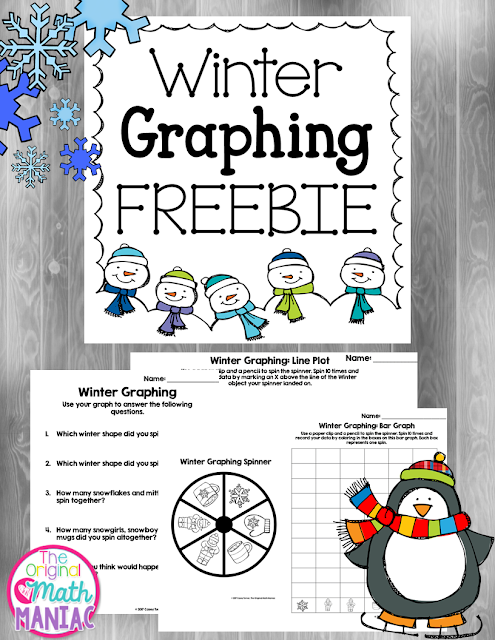 Winter Graphing Freebie!