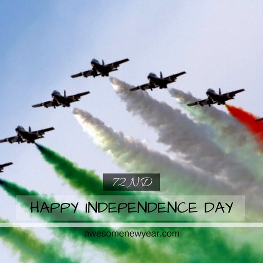 independence day greetings 2018