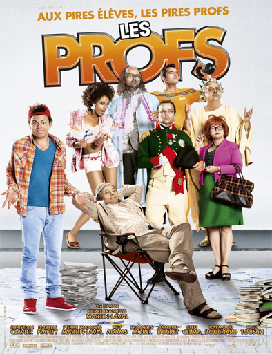 Ver Les Profs (2013) Online