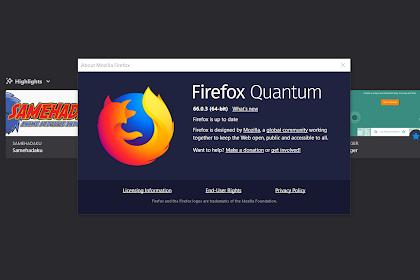 Cara Mengubah Folder Temporary Firefox!