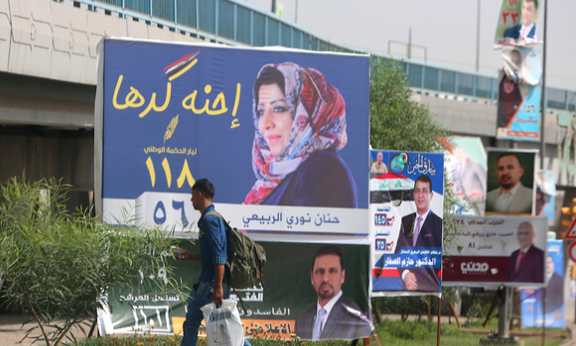 Iraqis head to polls in first election since defeat of Islamic State