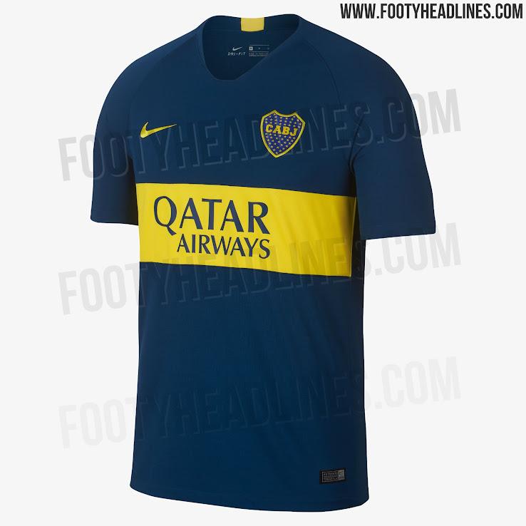 on sale adaf9 b71ba Boca Juniors 18-19 Home & Away Kits Released - Footy Headlines