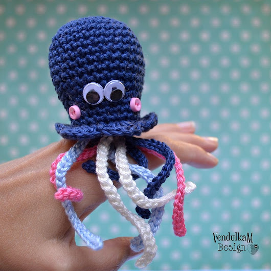 Magic with hook and needles: Little Octopus Annie
