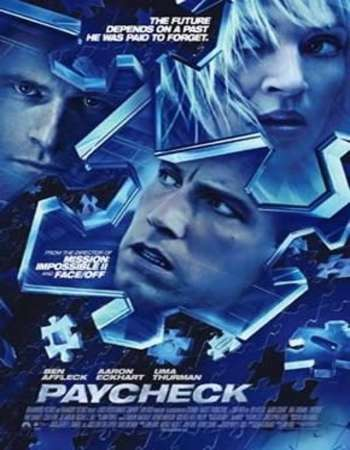 Paycheck 2003 Hindi Dual Audio BRRip Full Movie Download