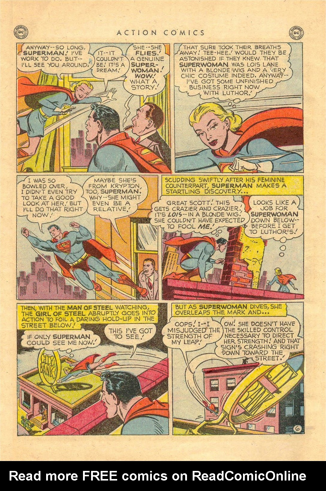 Read online Action Comics (1938) comic -  Issue #156 - 7
