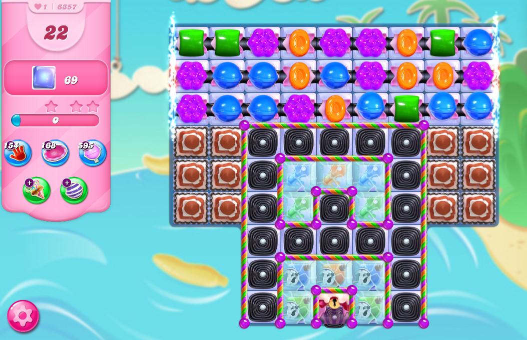 Candy Crush Saga level 6357