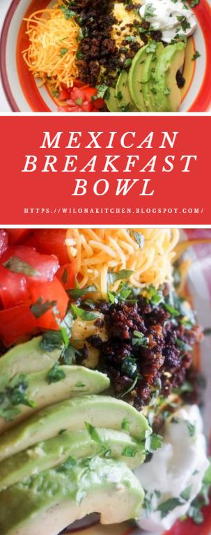 Mexican Breakfast Bowl