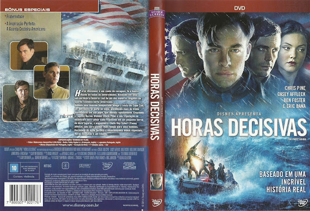 Capa DVD Horas Decisivas