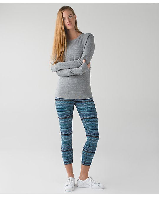 lululemon naval-peacock-space-dye-twist wunder-under-crop