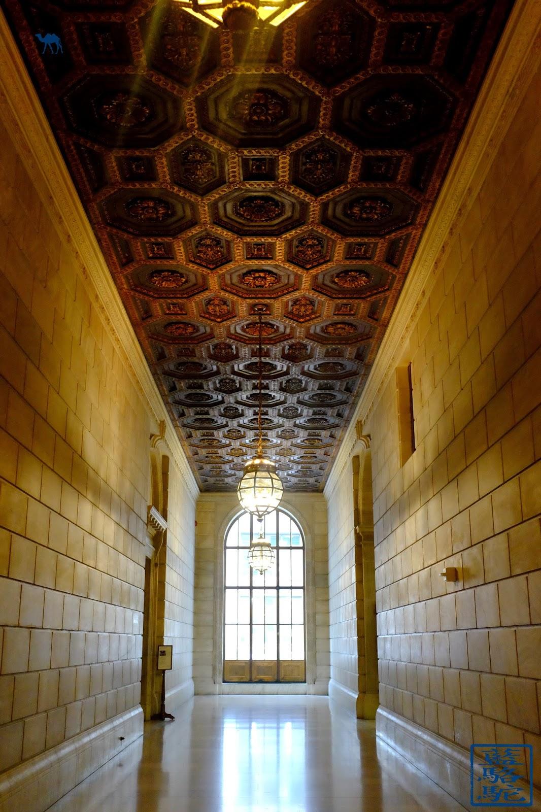 Le Chameau Bleu - Couloir de NYPL