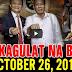 Nakakagulat Na Balita Ngayon October 26, 2017 - Pres. Duterte   Bongbong Marcos   Pangilinan