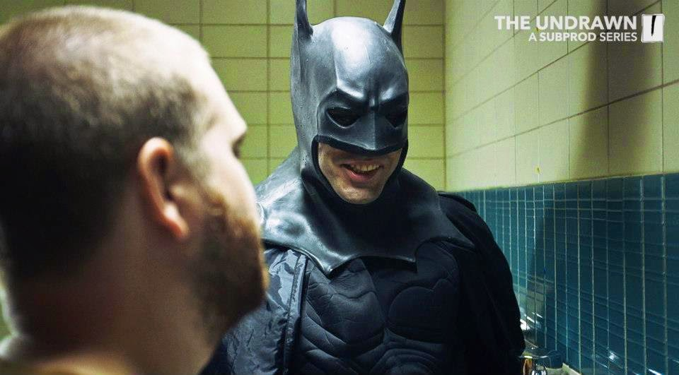 The Undrawn Comedy Webseries -- Batman Laughing