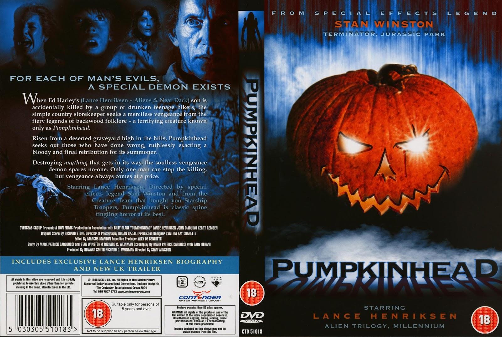 the horrors of halloween pumpkinhead 1988 newspaper ad