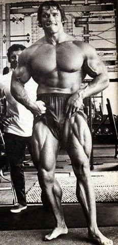 تمارين عضلات الرجل ارنولد شوارزنيجر