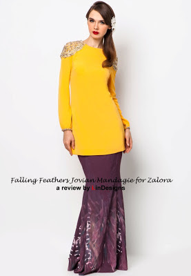 Modern muslimah wear design by JM for Zalora