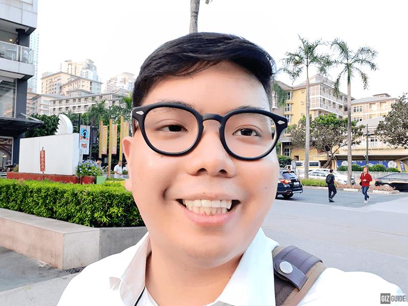 Daylight Beauty mode selfie