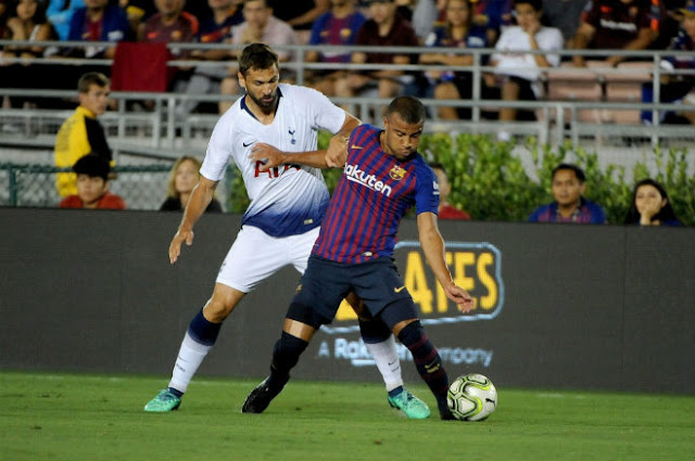 Video Barcelona - Tottenham: 3 phút 2 bàn & loạt luân lưu kịch tính