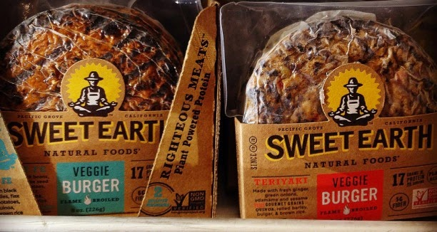 Vegetarian Vegan Food Groceries Options at Target Sweet Earth Natural Foods Veggie Burgers Non GMO project verified
