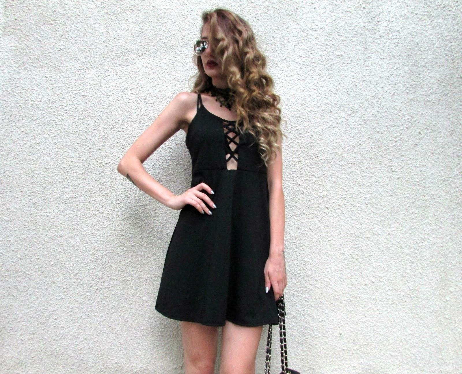 283b950a810 SASSY LITTLE BLACK DRESS | Venetia Kamara Blog | Bloglovin'
