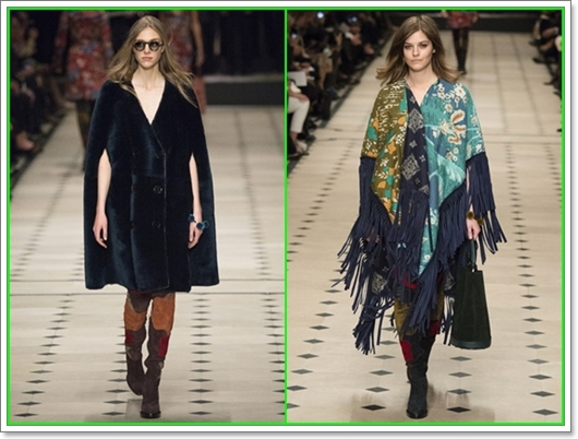 Burberry Prorsum Herbst-Winter Kollektion 2015/2016