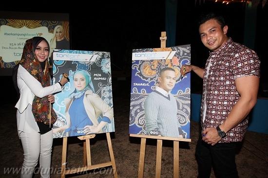 Duta baru TONTON, Mia Ahmad dan Saharul Ridzwan