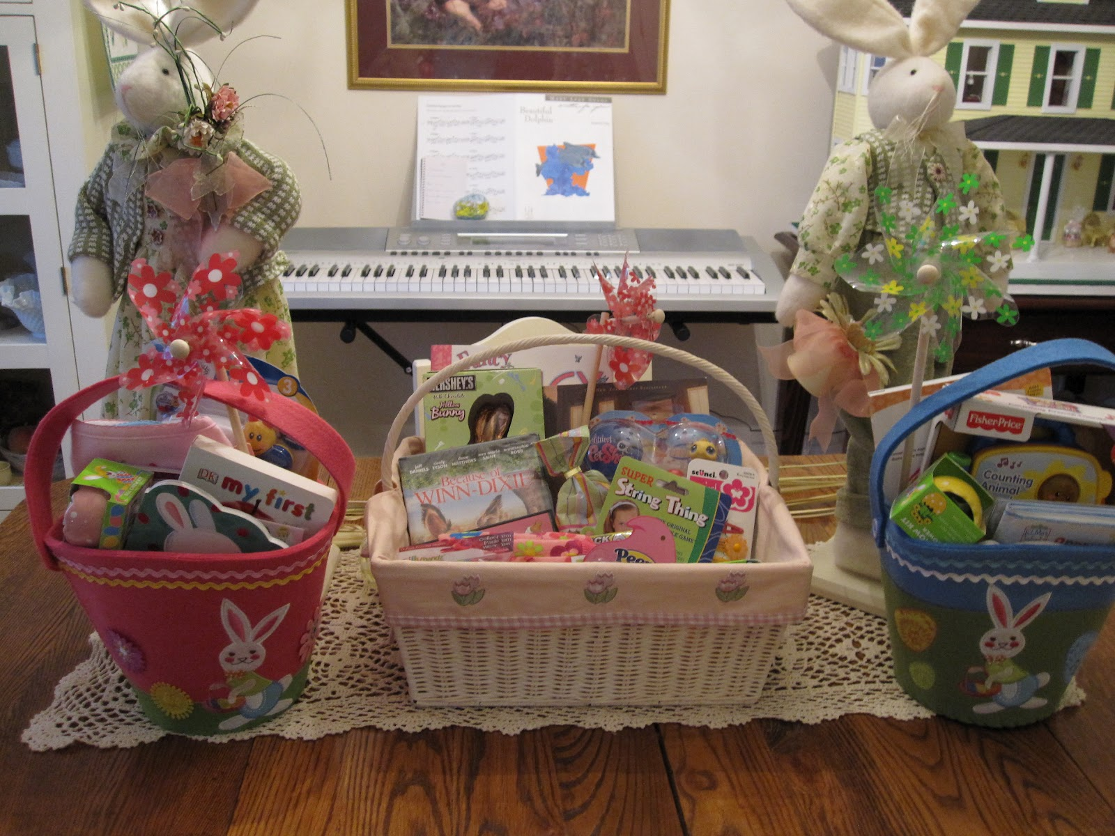 Easter Baskets For Little Kids