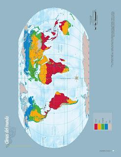 Apoyo Primaria Atlas de Geografía del Mundo 5to. Grado Capítulo 2 Lección 3 Climas del Mundo