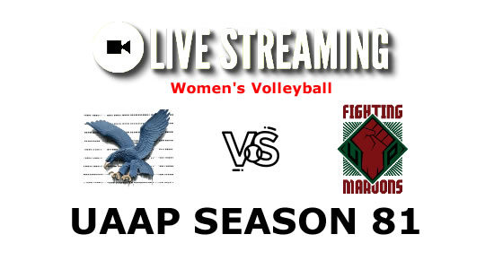 LIVE STREAMING: Ateneo vs UP Volleyball Women's Match UAAP Season 81