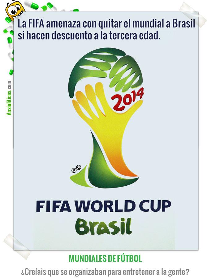Chiste del Mundial Brasil 2014 Rácanos de la FIFA