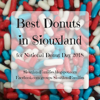 Best Donuts in Siouxland for National Donut Day 2018