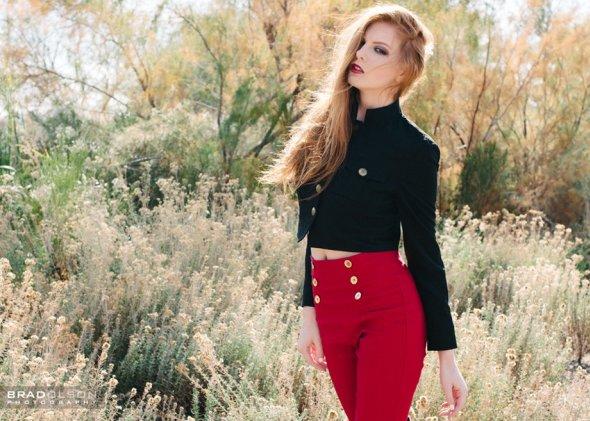 Brad Olson 500px fotografia fashion modelos mulheres beleza ruiva shantia veney shaun tia cabelos vermelhos sardas