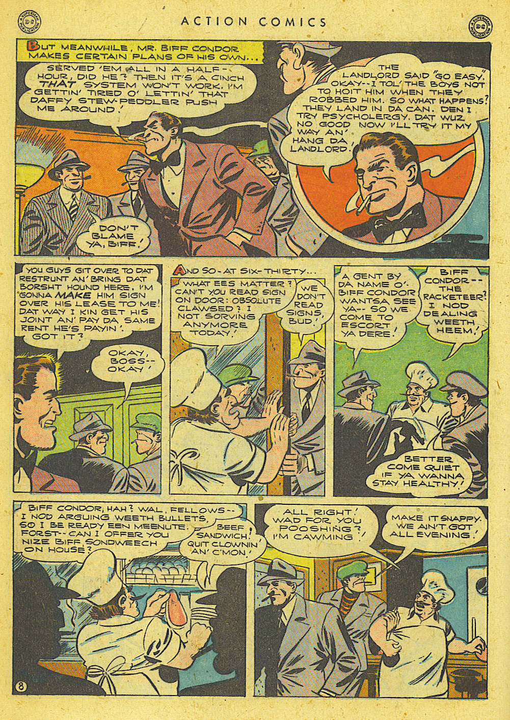 Read online Action Comics (1938) comic -  Issue #78 - 9