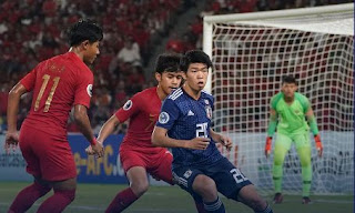 Indonesia vs Jepang 0-2 Perempat Final Piala AFC U-19 2018