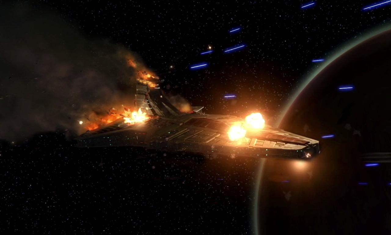 Resultado de imagen de Las dos naves espaciales se despidieron y cada cual siguió su camino