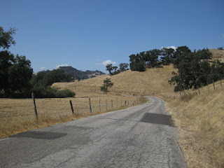 Patchwork on Santa Rosa Creek Road, east of Cambria, California