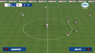 PES 2015 Mod 2019 Camera PS4 Full HD PPSSPP