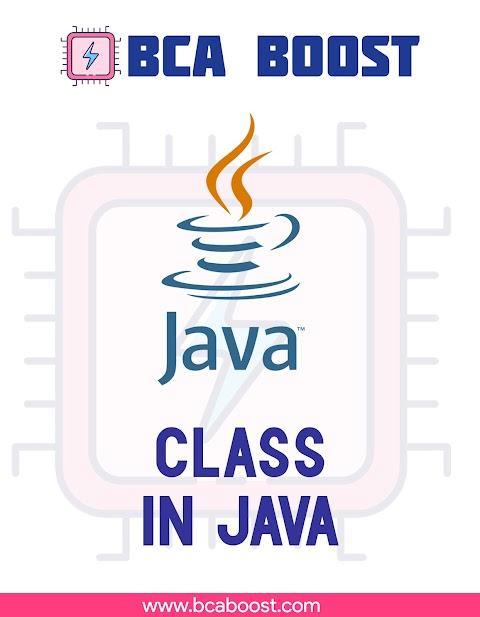 Class in Java