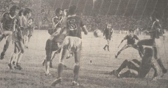 Bolivia y Chile en partido amistoso, 22 de junio de 1989