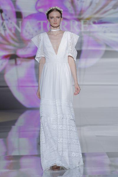 Bellos vestidos de novias | Colección cortes imperios