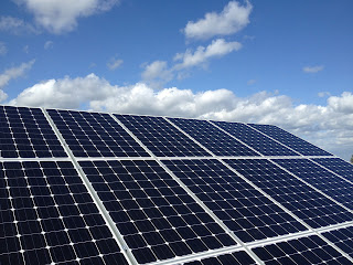 4000 watts of solar generation on a roof in Windsor, berkshire