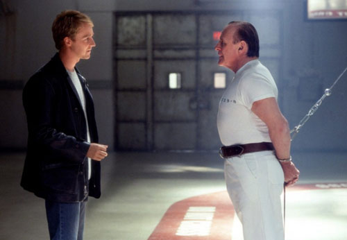 Travis Simpkins Red Dragon 2002 Hannibal Lecter Anthony Hopkins And Edward Norton
