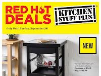 Kitchen stuff plus flyer valid September 18 - 24 , 2017
