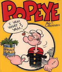 popeye and spinach,spinach has iron,makan sayur bayam,cara nak makan bayam,bayam,kenapa popeye suka makan bayam