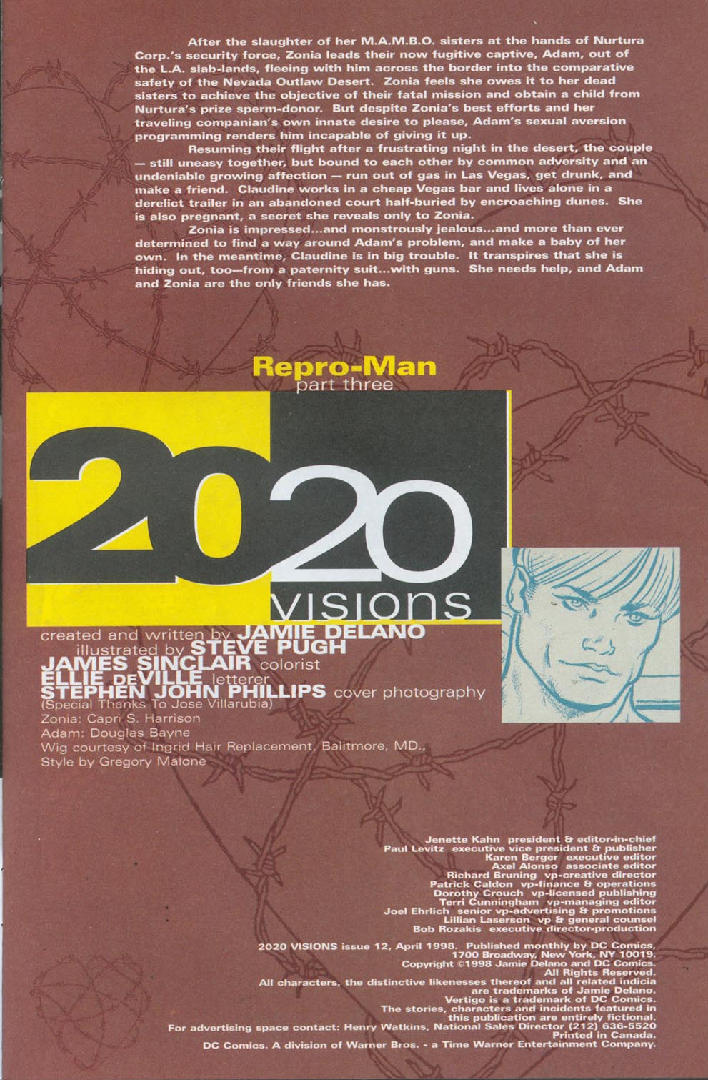 Read online 2020 Visions comic -  Issue #12 - 2