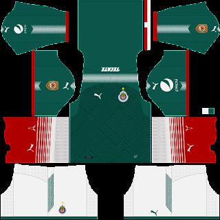 813ad5777be Uniforme Del Chivas Para Dream League Soccer 2018 :: Dragonsfootball17