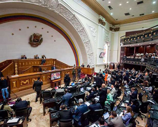 Video: la pelea entre los diputados Roa y Bozo en la AN