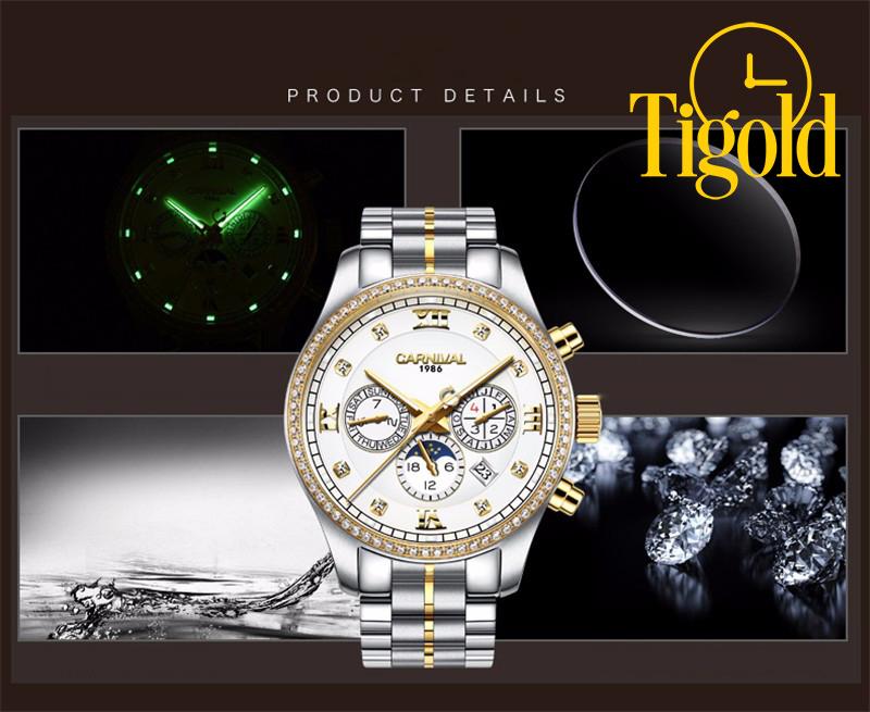 Kết quả hình ảnh cho hẹ thống đồng hồ tigold chính hãng