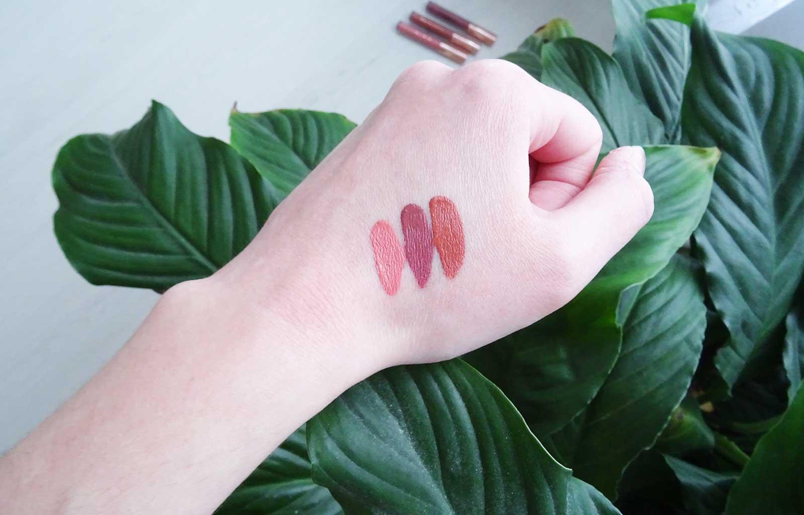 rouges à lèvres liquides mats ElsaMakeup