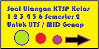 Download soal soal uts ktsp lengkap sd kelas 1 2 3 4 5 6 semester 2 genap mtk, pkn, ipa, ips, indonesia, matematika, inggris, sunda, pai, jawa, penjas, pjok terbaru