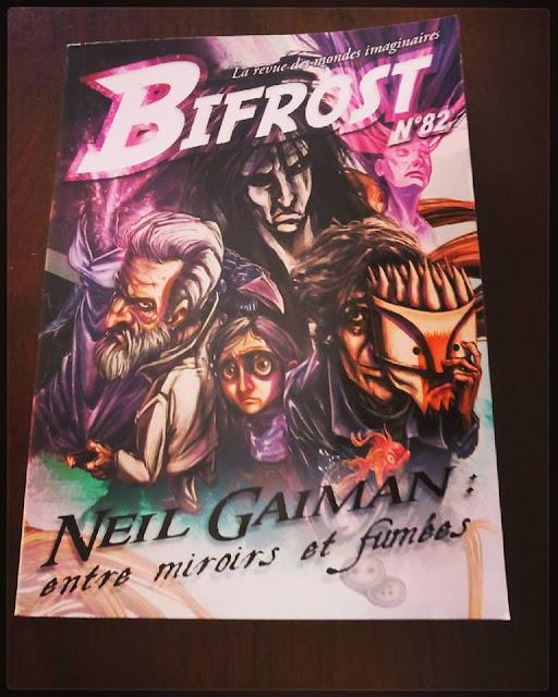 Bifrost, la revue des mondes imaginaires - éditée par Le Bélial
